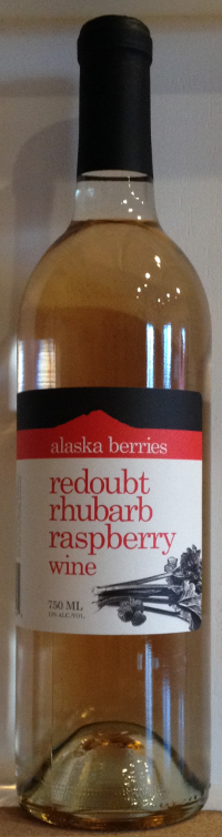 redoubt rhubarb raspberry wine